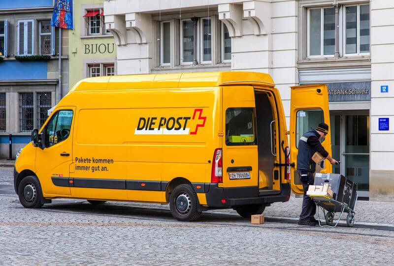 瑞士邮政小包