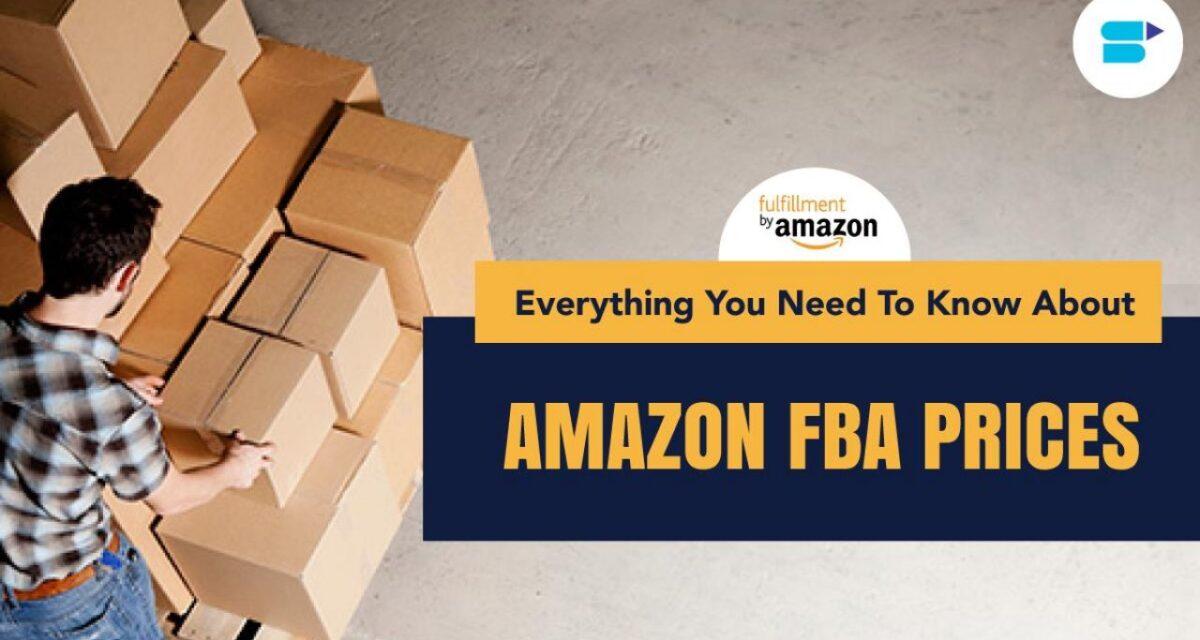 亚马逊2020年度配送费及物流费用变更
